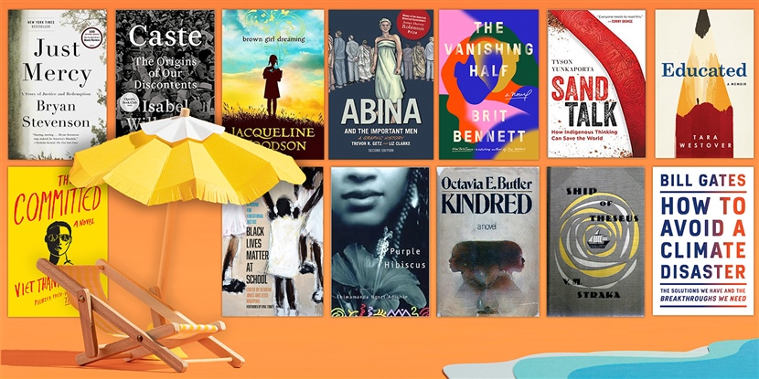 It's finally summer! The 2021 OER Project summer reading list