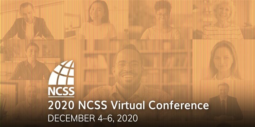 We'll see you (virtually) at NCSS 2020!