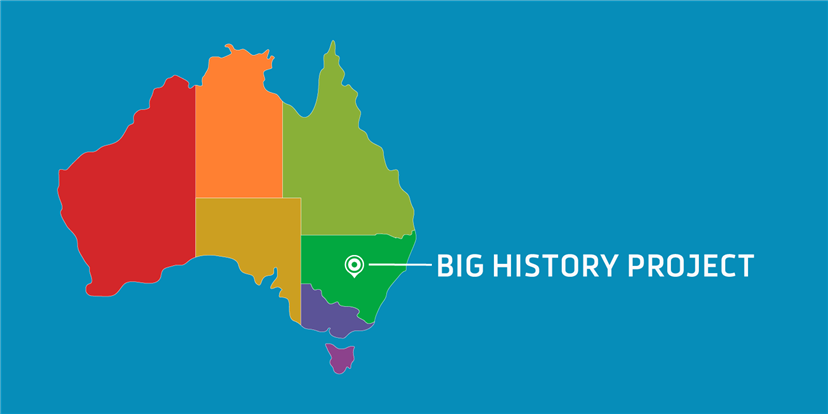 Big History Project as an elective in New South Wales, Australia