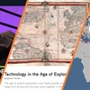 Collage of images from this year's updates, including an ancient map, a modern map, and an OER Project video host wearing a suit.
