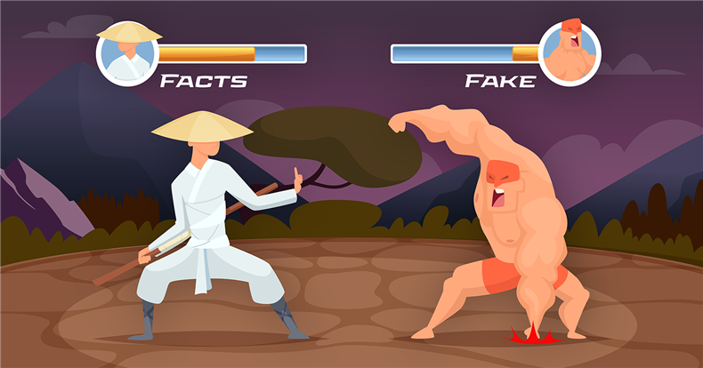 Facts vs. Fake News. Fight!