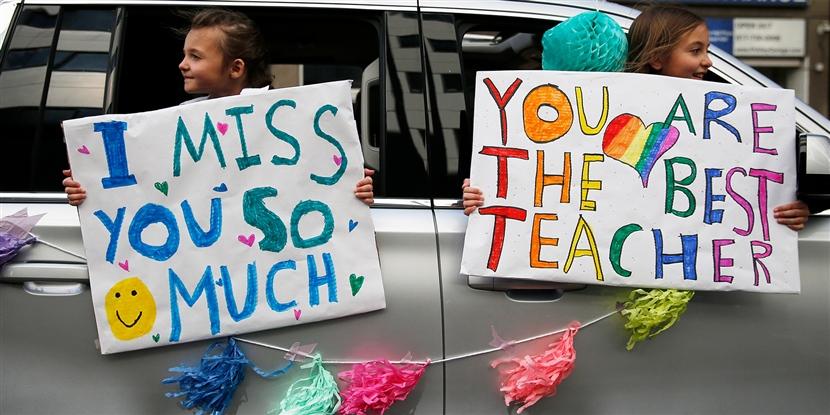 Time to celebrate teachers!