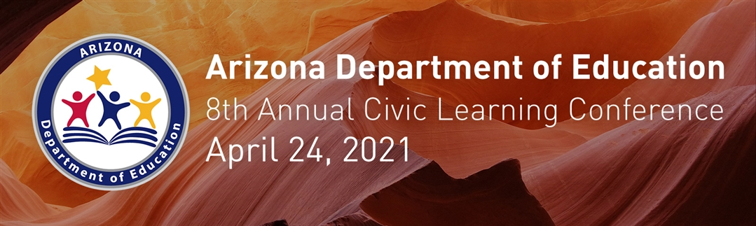 Arizona Department of Education logo and event banner